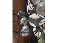 Taylormade SLDR Driver , 3 wood and hybrid
