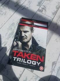 Taken trilogy DVD new and sealed
