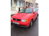 Red VW Volkswagen Polo for sale *spares and repairs*