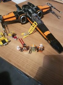 Lego Poe's X-Wing