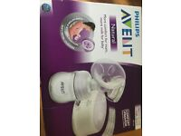 Electric breast pump brand new