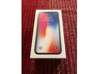 Unlocked iPhone X - 64gb - Brand New