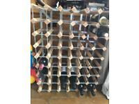 Wine rack (wine not included)