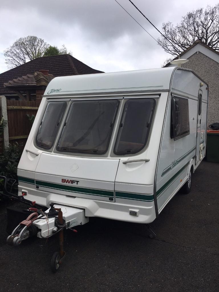 Swift caravan 1998 2 berth