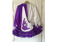 Purple Irish Dancing Dress for sale