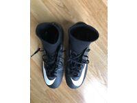 Nike Mercurial sock boot size 6