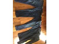 Maternity Jeans size 12 x 5 mostly leg 30