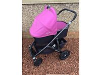 Pram - Uppababy Vista - Purple - *REDUCED TO £200*