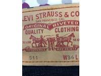 Men's Levi 511 jeans slim fit
