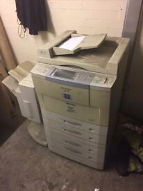 Sharp Copier AR-407, Needs servicing error H5-01.