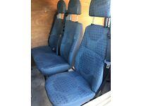 Transit mk7 2008 - 2013 rear passenger seats