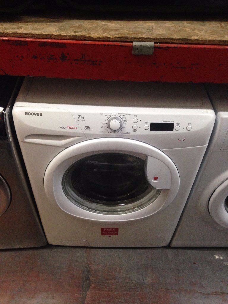 HOOVER 7KG WASHING MACHINE WHITE RECONDITIONED