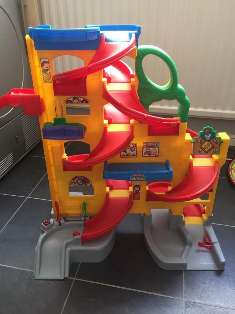 car garagein St Helens, MerseysideGumtree - Little people car garage for sale, excellent condition with little people cars