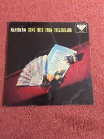 Mantovani song hits from theatreland LP vinyl