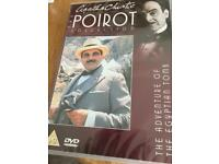 Agatha Christie The Poirot Collection DVD's