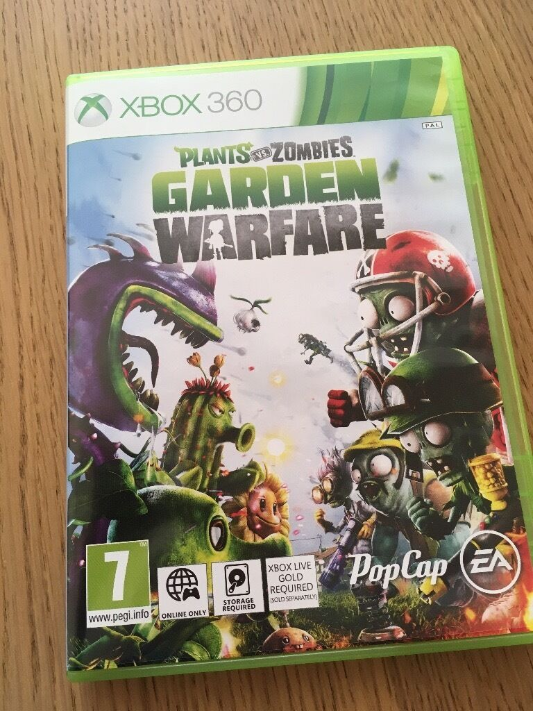 plants vs zombies garden warfare xbox 360 game - Plants Vs Zombies Garden Warfare Xbox 360