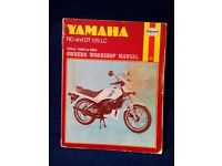 Haynes workshop manual for Yamaha RD / DT 125 LC . Mk 1