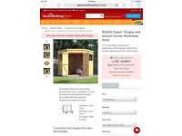***BRAND NEW*** Tonge and Groove Wooden Shed 7x7