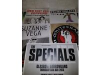 Gig Promo Posters