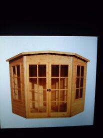 7x7 corner summer house