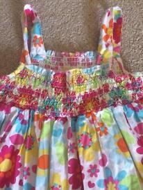 Girls summer dress Debenhams. Age 5-6.