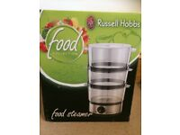 Brand New in Box Russell Hobbs 3 Tier 7L Food Steamer