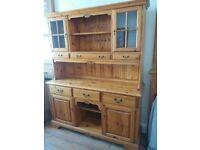 Solid wooden dresser/storage cupboard for kitchen/dining room