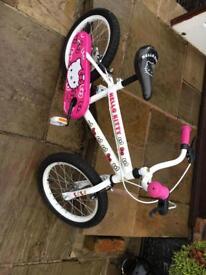 Child's 16 inch wheel child's bike