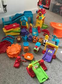 VTech Toot Toot drivers and train track