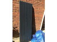 Square columned designer radiator