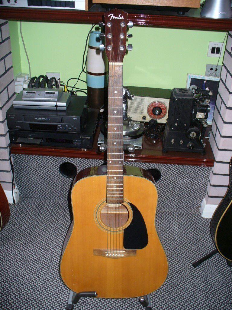 Vintage Fender Acoustic Guitar