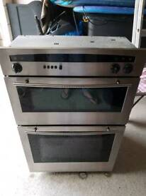 Brushed stainless integrated Neff cooker