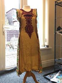 Shalwar kamees(with trousers and dupata)