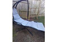 Umbrella swing chair