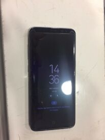 Nearly Brand New Samsung Galaxy S8 Factory Unlocked with a box.