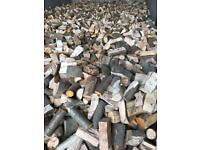 Quality seasoned hardwood firewood logs