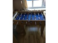 football game fold away table top