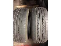 2x 225 45 17 Bridgestone runflat bmw oe