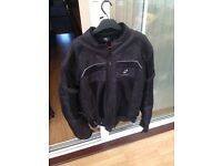 Black Summer motorcycle jacket made by BLACKs Immaculate condition