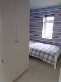 Double room available for lodger in quiet and clean home £360 pcm. Small deposit