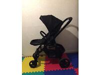 Graco evo stroller - Pitstop Black colour