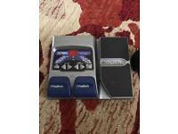 Digitech RP80 guitar pedal