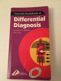 Churchill's Pocketbook of Differential Diagnosis by A. Raftery and E. Lim