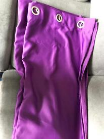 90x108 Purple Blackout Thermal Curtains