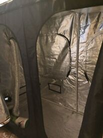 Grow tent perfect condition with complete kit