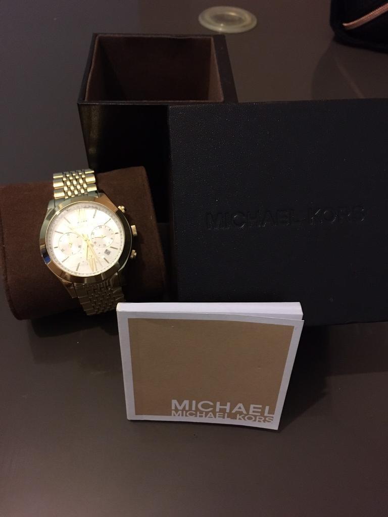 Michael Kors Brookton Watch Brand New sale/swap
