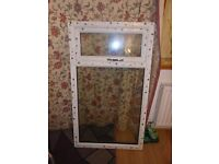 brand new fully glazed upvc window