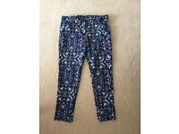 Women's Size 16 floral trousers
