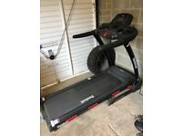 Nearly new reebok gt40s treadmill. can be delivered if locally