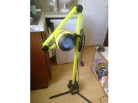 Weird Industrial Green Dentist's Floor Standing Lamp 12V / 240V 170cm